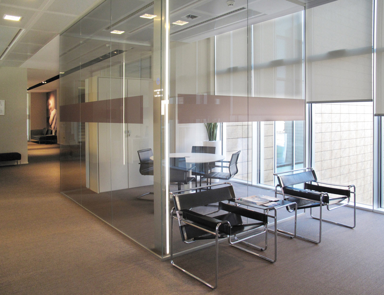 pareti mobili divisorie in vetro mobili ufficio design in legno ...
