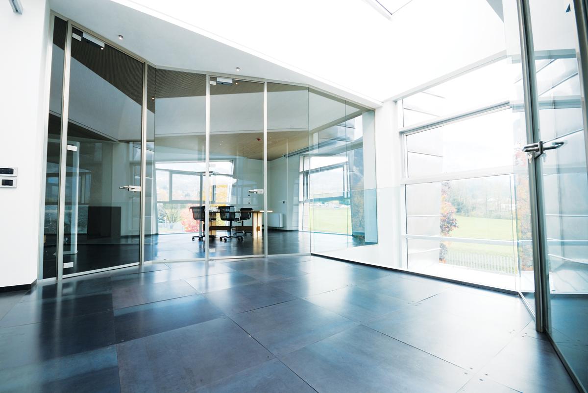 pareti divisorie in vetro per ufficio, vetrate di design ... - Pareti Vetrate Uffici