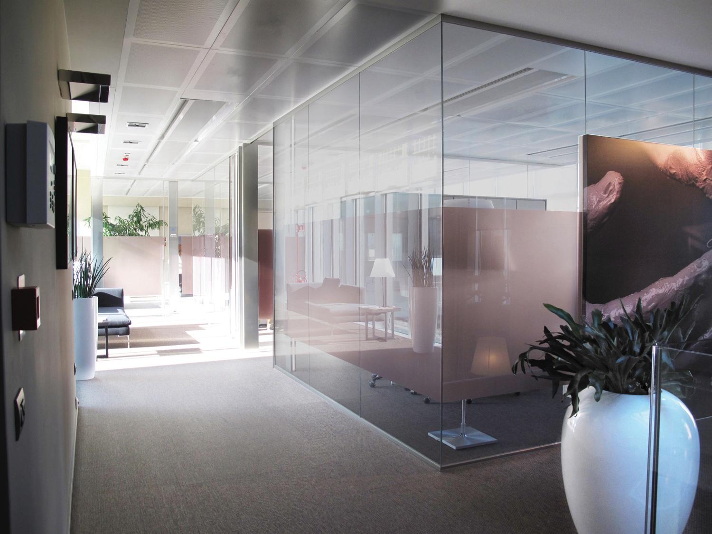 Pareti In Vetro In Offerta : Pareti mobili divisorie in vetro ufficio design