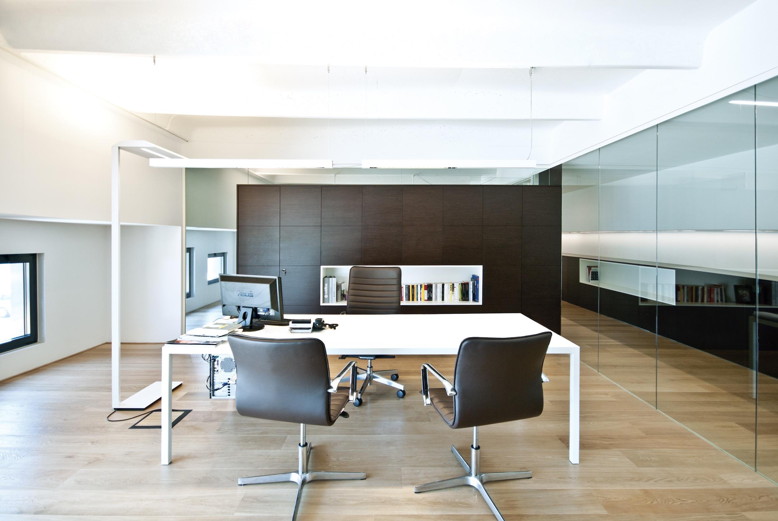 Coldline for Ufficio design in legno