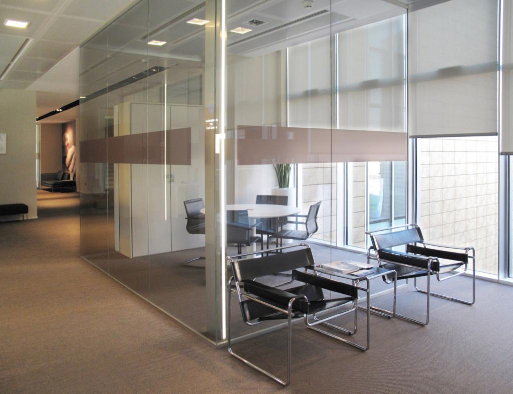 Pareti In Vetrocemento Prezzi pareti divisorie design per ufficio in vetro, legno